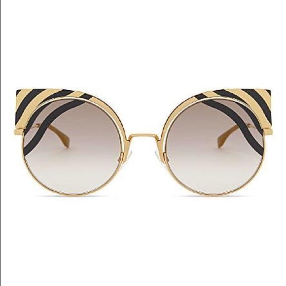8d2375472a0c Fendi Accessories -  FENDI  FF 0215 S Hypnoshine Sunglasses Cat Eye